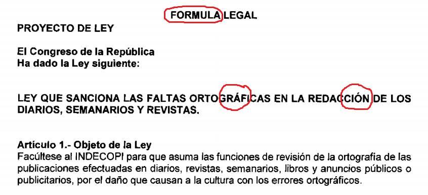 Proyecto de ley del congresista Marco Falconí.