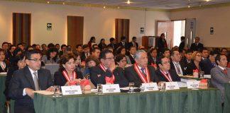 PJ realizó Pleno Jurisdiccional Nacional Penal y Procesal Penal