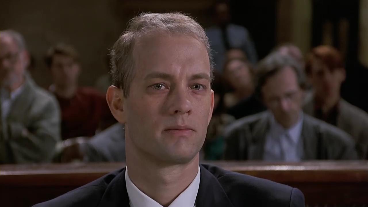 4. Andrew Beckett (Philadelphia). Interpretado por Tom Hanks.