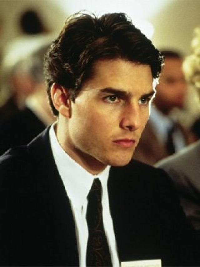 8. Mitch McDeere (La Tapadera). Interpretado por Tom Cruise.