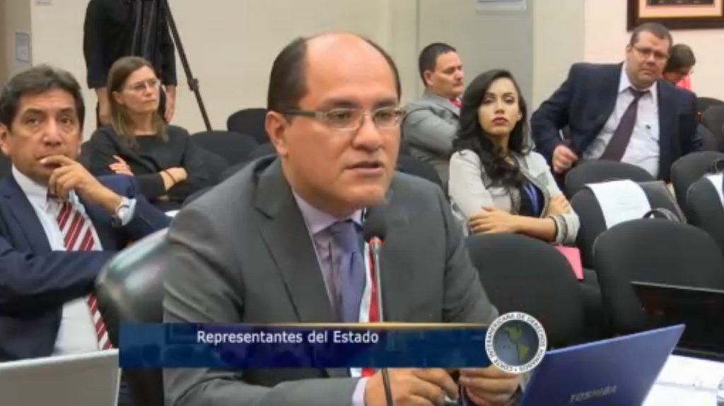 Luis Alberto Huerta Gerrero, procurador supranacional, representante del Estado peruano en este caso.